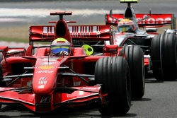 Felipe Massa, Scuderia Ferrari, F2007, Lewis Hamilton, McLaren Mercedes, MP4-22