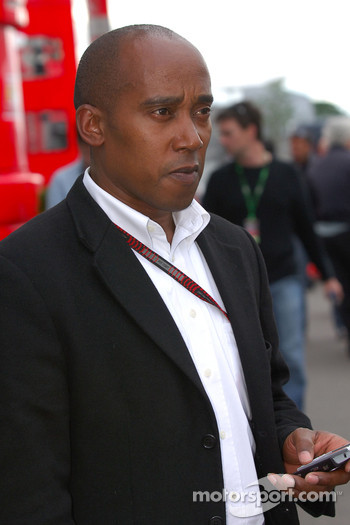 Anthony Hamilton, Father of Lewis Hamilton