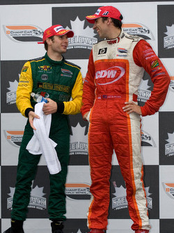 Podium: Will Power chats with Justin Wilson