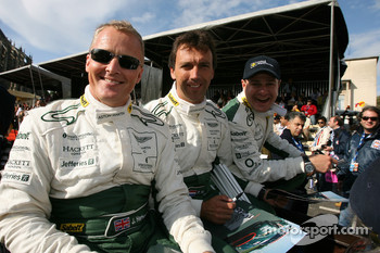 Johnny Herbert, Peter Kox and Tomas Enge