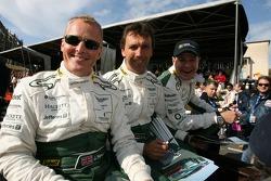 Johnny Herbert, Peter Kox and Tomas Enge