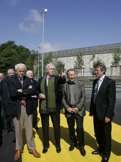 Inauguration of the new Tertre Rouge corner