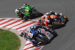Colin Edwards, Nicky Hayden and Anthony West