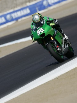 Roger Lee Hayden on the MotoGP Kawasaki