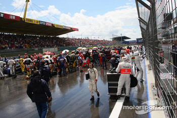 The grid after the interruption