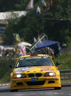#82 MSC-Rhön BMW M3 E46: Christian Leutheuser, Torsten Krey, Christian Schmidt, Harald Schlotter