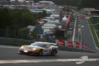 #18 Selleslagh Racing Team Corvette C5R: Damien Coens, Marc Duez, Maxime Soulet, Steve Van Bellingen