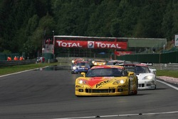 Start: #5 Carsport Holland Corvette C6R: Jean-Denis Deletraz, Mike Hezemans, Fabrizio Gollin, Marcel Fassler leads the field