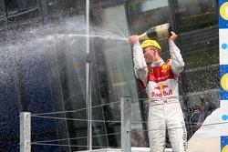 Podium: Mattias Ekström, Audi Sport Team Abt Sportsline, Audi A4 DTM