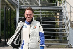Kurt Mollekens looking cheerful despite GT4 qualifying