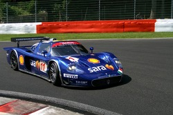#11 Scuderia Playteam Sarafree Maserati MC 12 GT1: Andrea Bertolini, Andrea Piccini, Fabrizio De Simone, Alessandro Pier Guidi
