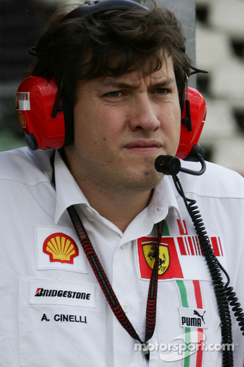 Alex Cinelli, Scuderia Ferrari, Aerodynamic Engineer