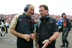 Franz Tost, Scuderia Toro Rosso, Team Principal, Christian Horner, Red Bull Racing, Sporting Director