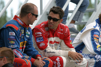 Photoshoot: Marcos Ambrose and Aric Almirola