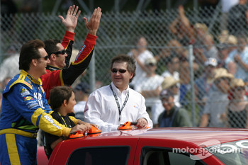 Drivers introduction: Ron Fellows and Max Papis