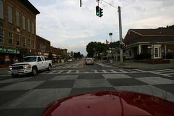 Cruising in downtown Watkins Glen