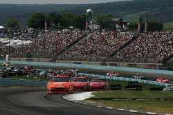 Tony Stewart leads the field