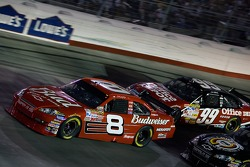 Dale Earnhardt Jr. leads Carl Edwards