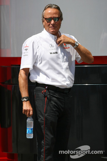 Mansour Ojeh, Commercial Director of the TAG McLaren