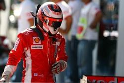 Second place Kimi Raikkonen