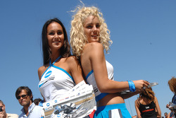 The lovely Konica Minolta girls