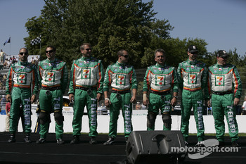 Drivers introduction: Tony Kanaan and his team