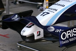 Williams F1 Team new front wing detail