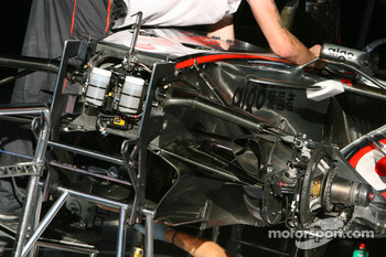 McLaren Mercedes, MP4-22, detail