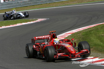 Felipe Massa, Scuderia Ferrari, F2007, Alexander Wurz, Williams F1 Team
