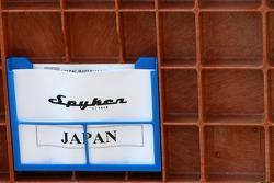 Spyker F1 Team travel cases