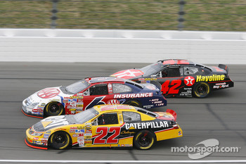 Dave Blaney, David Ragan and Juan Pablo Montoya