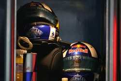 David Coulthard, Red Bull Racing, helmets