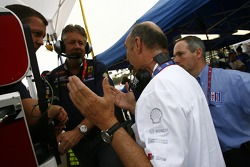 Dr. Wolfgang Ullrich ask Michael Peterson and Dave White if Audi can have Lucas Luhr back on the #2 car
