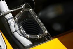 Air duct detail