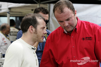 Jacques Villeneuve and crew chief Richard 'Slugger' Labbe