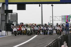 Start of qualifying session