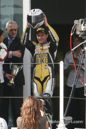 Ayrton Badovani Winner Of The Superstock 1000 Race