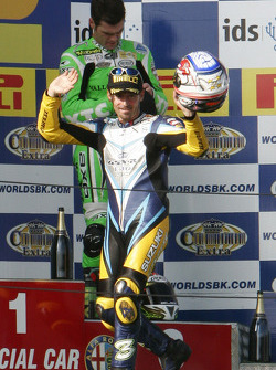 Max Biaggi 2nd of race 2