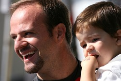 Rubens Barrichello, Honda Racing F1 Team and his son