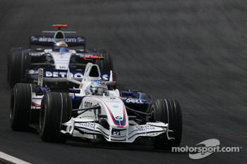 Nick Heidfeld, BMW Sauber F1 Team , Nico Rosberg, WilliamsF1 Team