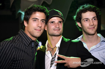 Vitantonio Liuzzi and Bruno Senna