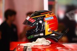 Mark Skaife's helmet (Holden Racing Team Commodore VE)
