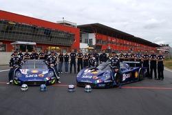 Scuderia Playteam Sarafree Maseratis