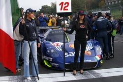 Scuderia Playteam Sarafree Maserati MC 12 GT1: Giambattista Giannoccaro, Alessandro Pier Guidi