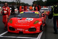 Scuderia Ecosse Ferrari 430 GT2: Andrew Kirkaldy, Tim Sugden