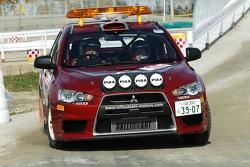 Mitsubishi Lancer Evolution X service vehicle