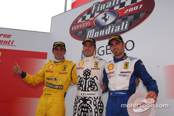 Trofeo Pirelli race 2: the podium