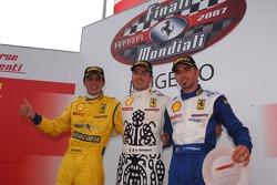 Trofeo Pirelli race 2: the podium