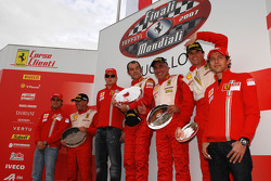 Coppa Shell: the podium