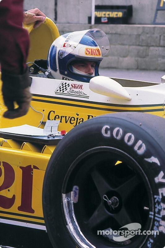 1980赛季,科克·罗斯伯格与费迪帕尔蒂车队签约,并在揭幕战阿根廷大奖赛上就首次获得第三,登上领奖台。然而赛季更多时候仍是挣扎于资格赛边缘。